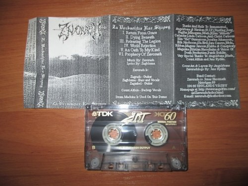 ZAVORASH - Za Vorbashtar Raz Shapog Tape Black Metal
