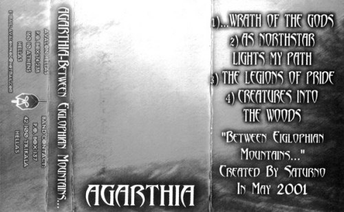 AGARTHIA - Between Eiglophian Mountains... Tape NS Metal