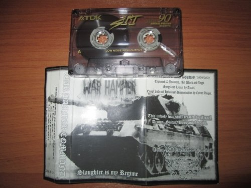 WAR HAMMER COMMAND - Slaughter Is My Regime Tape Black Metal