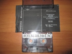 FORGOT - Misanthropy Tape Black Metal