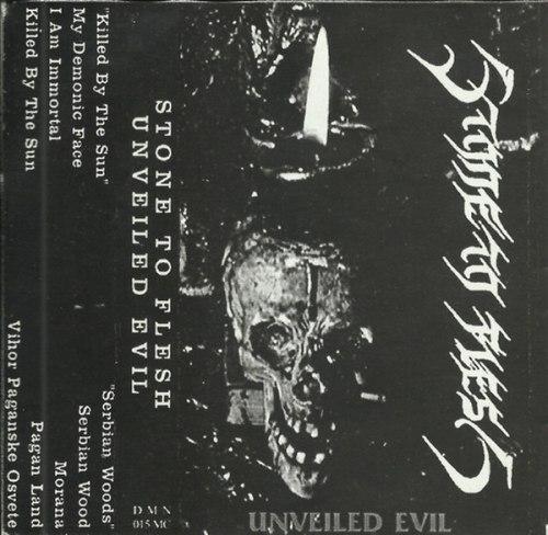 STONE TO FLESH - Unveiled Evil Tape Black Metal