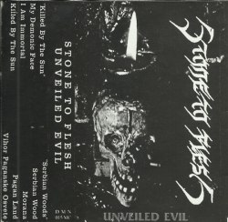 STONE TO FLESH - Unveiled Evil Tape Black Metal