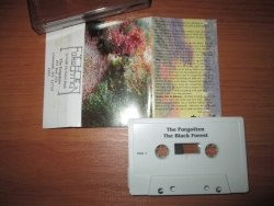 THE FORGOTTEN - To Walk the Forest Black Tape Blackened Doom Metal