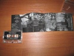 MALVENTO - Sacro Martirio Tape Black Thrash Metal