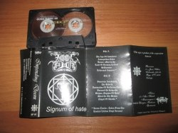IMPENDING DOOM - Signum Of Hate Tape Black Metal