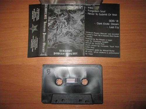 DAIMONION - Unknown Powers Obscure Tape Blackened Folk Metal