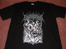 EZOPHAGOTHOMIA - Rising to Devour - L Майка Brutal Death Metal