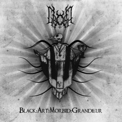 "GROMM - Black:Art:Morbid:Grandeur 7""EP Black Metal"