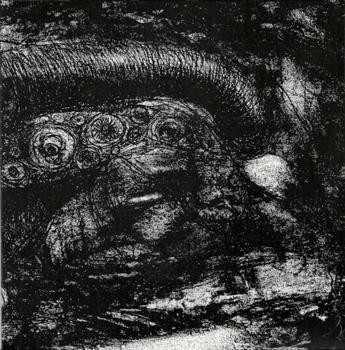 "ANTEDILUVIAN / TEMPLE NIGHTSIDE - Cogitating Vacuous 7""EP Black Metal"