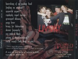 LIVIDITY - Fetish for the Sick MCD Brutal Death Metal