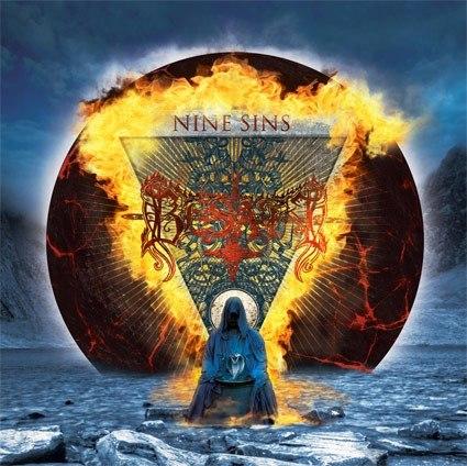 BESATT - Nine Sins CD Black Metal