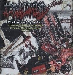 EXHUMED - Platters Of Splatter: A Cyclopedic Symposium Of Execrable Errata And Abhorrent Apocraphya 1992-2002 2CD Grindcore