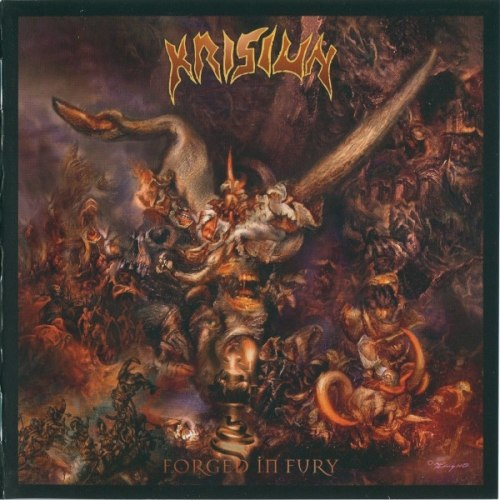 KRISIUN - Forged In Fury CD Death Metal