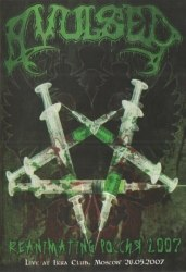 AVULSED - Reanimating Russia 2007 DVD Death Metal