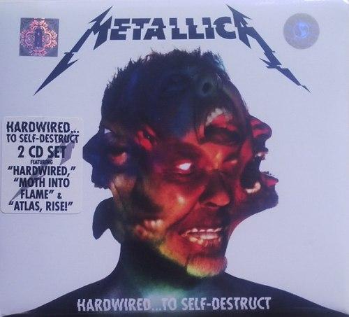 METALLICA - Hardwired...To Self-Destruct Digi-2CD Thrash Metal