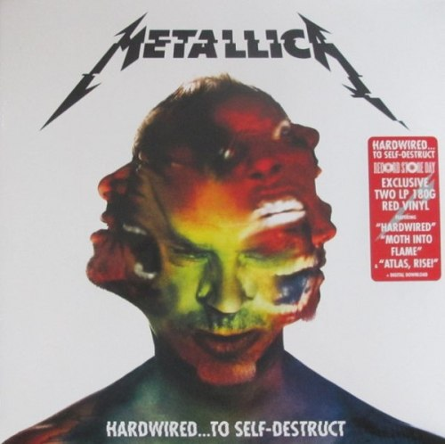 METALLICA - Hardwired...To Self-Destruct DLP Thrash Metal