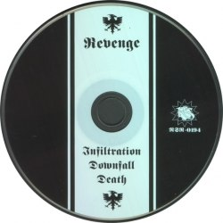 REVENGE - Infiltration.Downfall.Death CD Black Metal