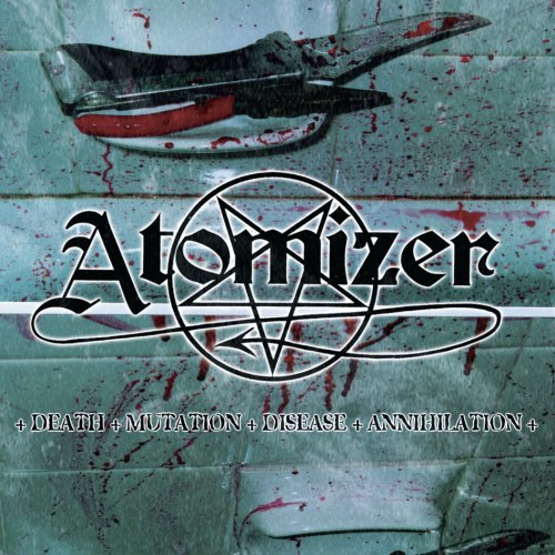 ATOMIZER - Death - Mutation - Disease - Annihilation CD Thrash Metal