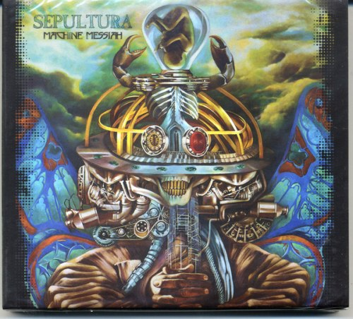 SEPULTURA - Machine Messiah Digi-CD+DVD Groove Metal