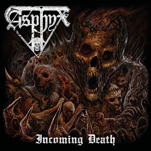 ASPHYX - Incoming Death CD Death Doom Metal