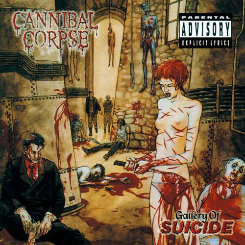 CANNIBAL CORPSE - Gallery of Suicide (XIII Collection) Digi-CD Brutal Death Metal