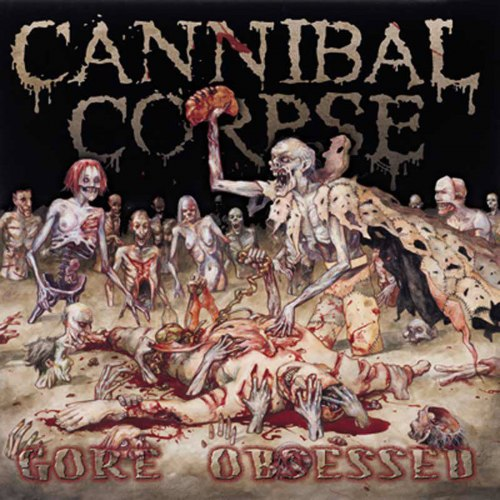 CANNIBAL CORPSE - Gore Obsessed CD Brutal Death Metal