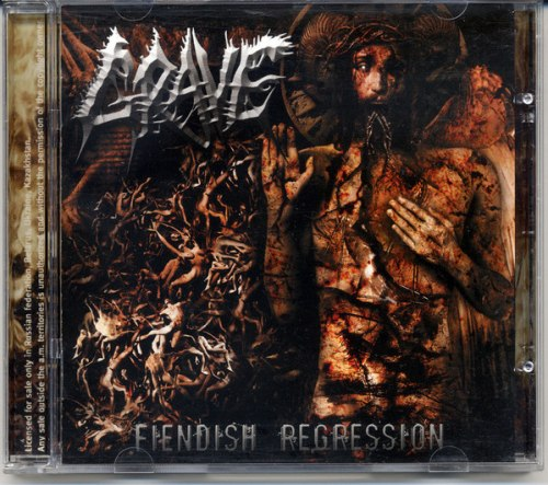 GRAVE - Fiendish Regression CD Death Metal