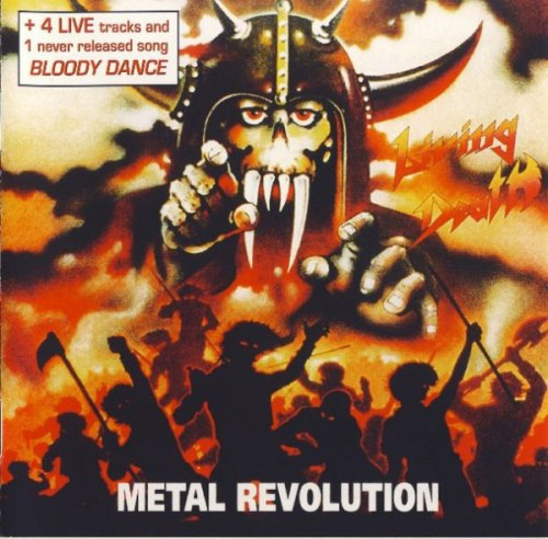 LIVING DEATH - Metal Revolution CD Thrash Metal