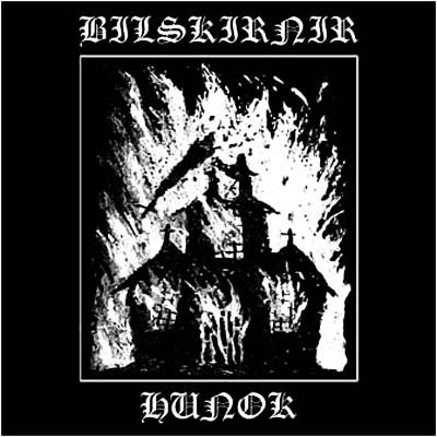 "BILSKIRNIR / HUNOK - Allied By Heathen Blood 7""EP Heathen Metal"