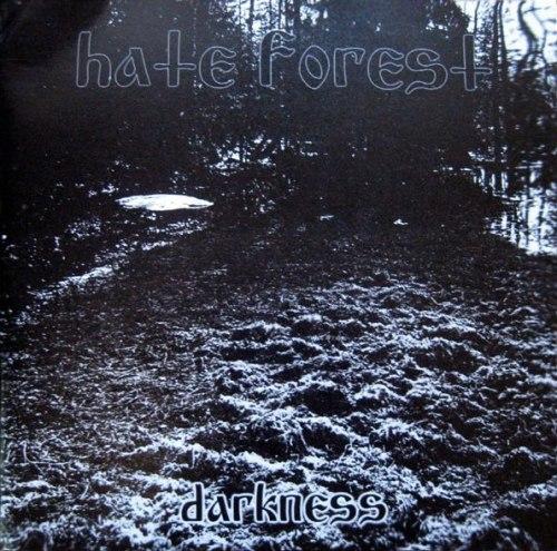 "HATE FOREST - Darkness 7""EP Atmospheric Heathen Metal"