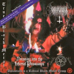 UNLASTIATH - Dreaming into the Infernal Possession CD Black Metal