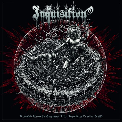 INQUISITION - Bloodshed Across The Empyrean Altar Beyond The Celestial Zenith CD Black Metal