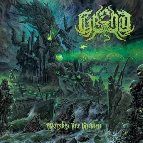 GROND - Worship the Kraken Digi-CD Death Metal