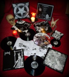 MOONBLOOD - From Hell LP Box Black Metal