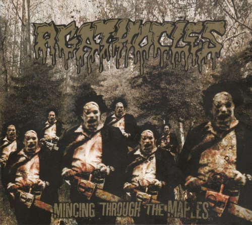 AGATHOCLES - Mincing Through The Maples Digi-CD Grindcore