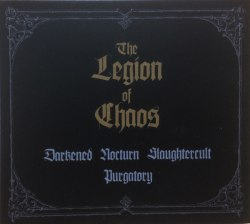 DARKENED NOCTURN SLAUGHTERCULT / PURGATORY - The Legion Of Chaos Digi-CD Black Death Metal