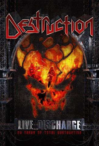 DESTRUCTION - Live Discharge DVD Thrash Metal