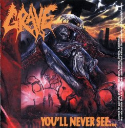 GRAVE - You'll Never See... CD Death Metal