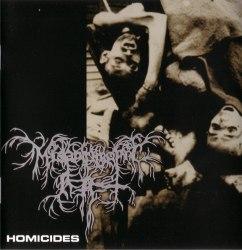 MISANTHROPIC ART - Homicides CD Black Metal