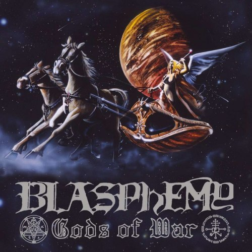 BLASPHEMY - Gods Of War / Blood Upon The Altar CD Black Metal
