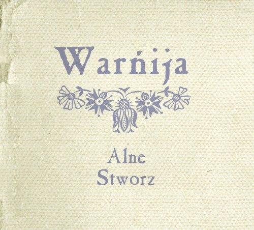 ALNE / STWORZ - Warńija Digi-CD Neofolk