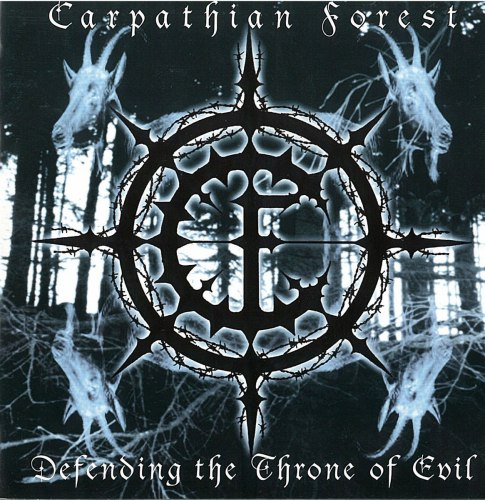 CARPATHIAN FOREST - Defending The Throne Of Evil CD Black Metal