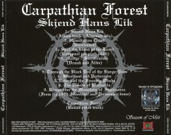 CARPATHIAN FOREST - Skjend Hans Lik CD Black Metal