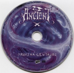 ANCIENT - Proxima Centauri CD Blackened Metal
