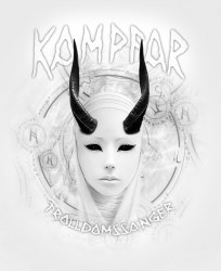 KAMPFAR - Trolldomssanger Tape Box Pagan Metal