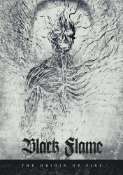 BLACK FLAME - The Origin Of Fire A5 Digi-CD Black Death Metal