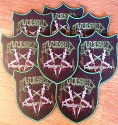 AVULSED - Death Metal junkies Нашивка Death Metal