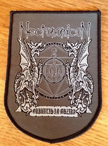 NECRONOMICON - Occultus Нашивка Death Metal