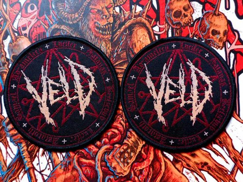 VELD - Logo Нашивка Death Metal