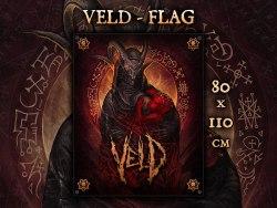 VELD - Flag Флаг Death Metal